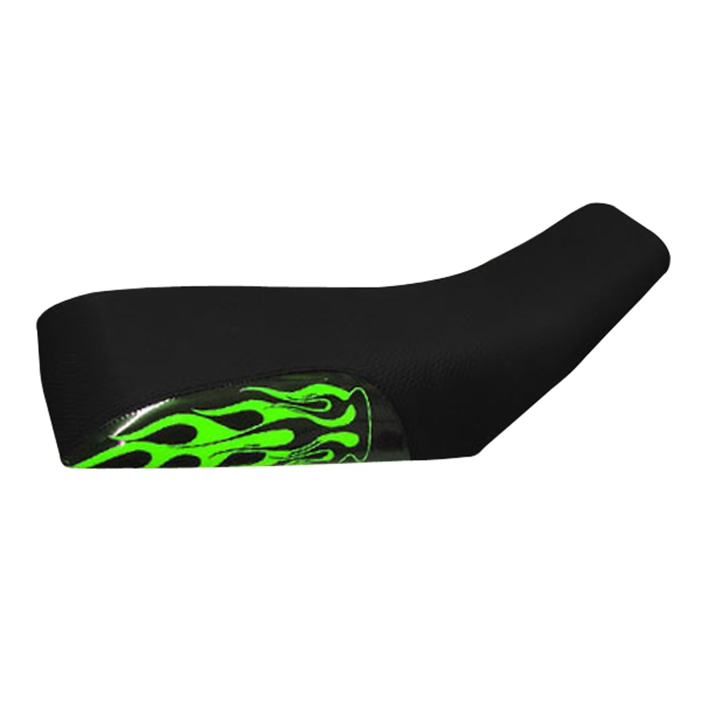 Green Flame Seat Cover