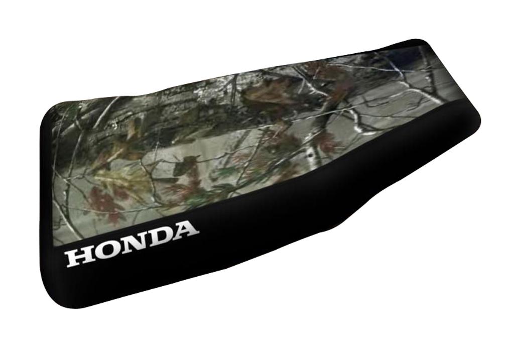 Honda Rancher 350 Camo Top Black Sides Logo Seat Cover 2000 & 2003 Models