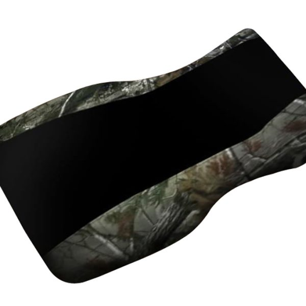 Polaris Sportsman 500 700 800 Black Top Camo Sides Seat Cover 2005 & Up Models