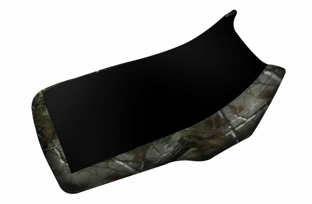 Yamaha Big Bear 350 Black Top Camo Sides Seat Cover Up to 1999 Models