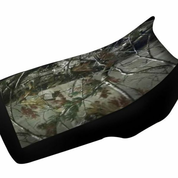 Yamaha Big Bear 350 Camo Top Black Sides Seat Cover up to 1999 Models