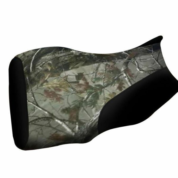Yamaha Bruin 250 350 Camo and Black Seat Cover