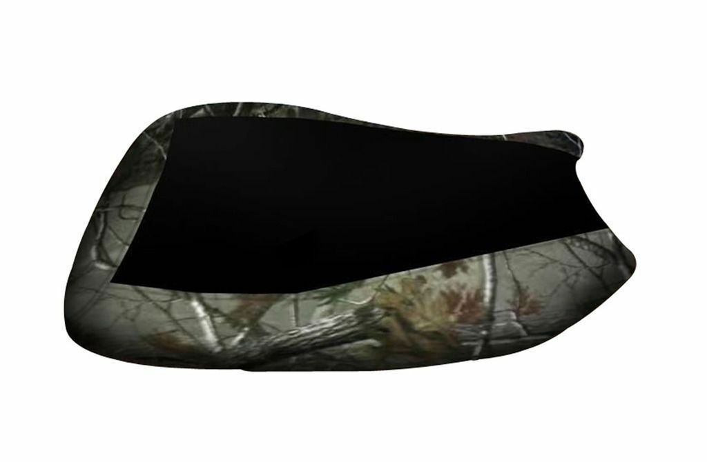 Yamaha Grizzly 700 Black Top Camo Sides Seat Cover