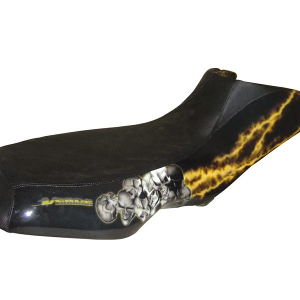 BOMBARDIER CAN AM DS 650 BLACK Yellow Lighting Seat Cover