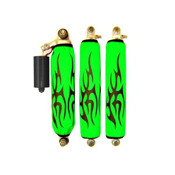 Black Tribal Green Shock Cover