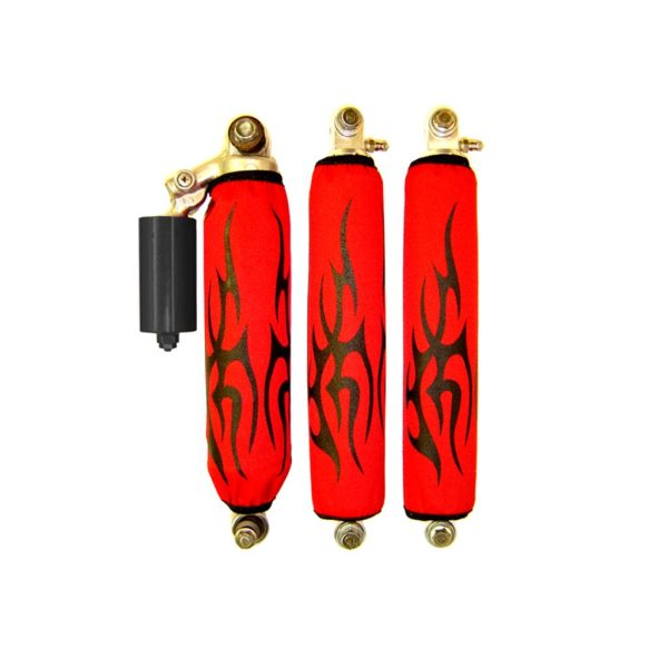 Black Tribal Red Shock Cover